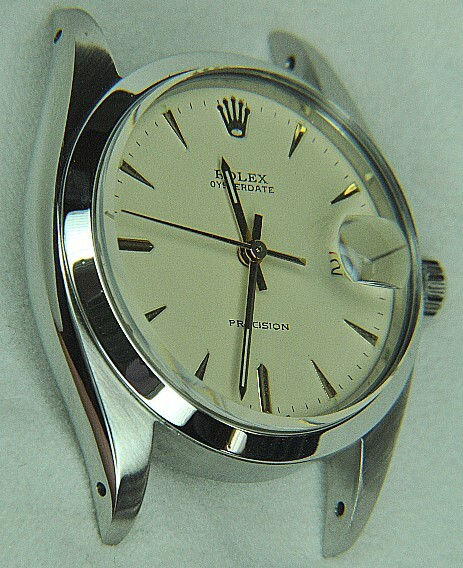 Vintage Rolex Oysterdate in steel with automatic movement